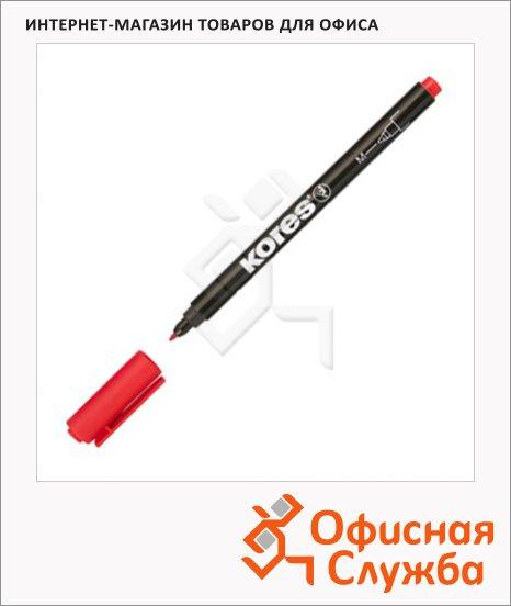 Маркер перманентный Kores, 1мм, круглый наконечник
