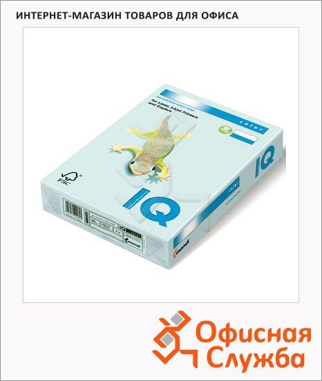 Цветная бумага для принтера Iq Color светло-голубая, А4, BL29