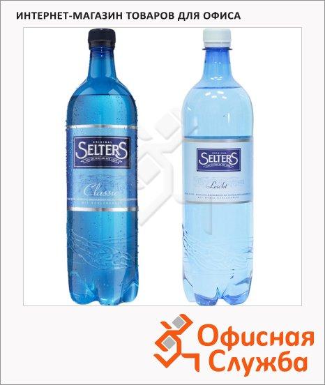 Вода минеральная Selters, 1л, ПЭТ