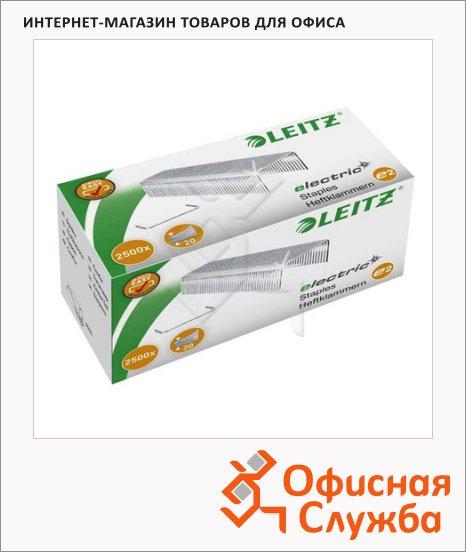 фото: Скобы для степлера Leitz е2 №24/6 2500 шт, для электрического степлера 5533
