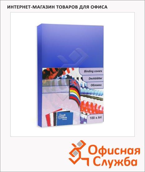 Обложки для переплета картонные Profioffice, А4, 250 г/кв.м, 100шт