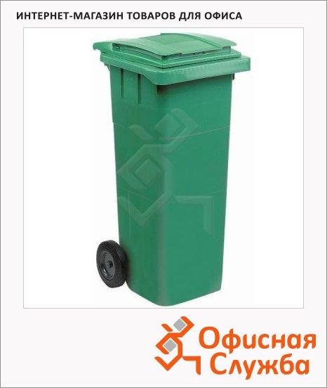 Контейнер для мусора пластиковый Merida негорючий, 120л