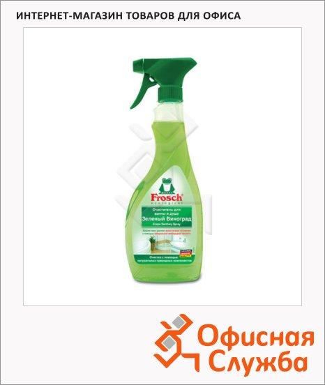 фото: Чистящее средство для сантехники Frosch 500мл зеленый виноград, спрей