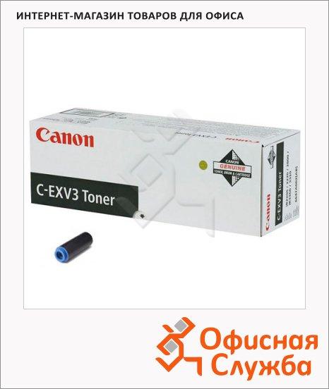 фото: Тонер-картридж Canon C-EXV3 черный, (6647A002)