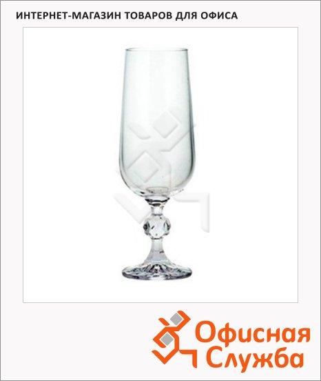 фото: Бокал для шампанского Bohemia Claudia 180мл 6шт/уп