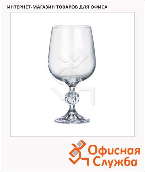 Бокал для вина Bohemia Claudia 230мл, 6шт/уп