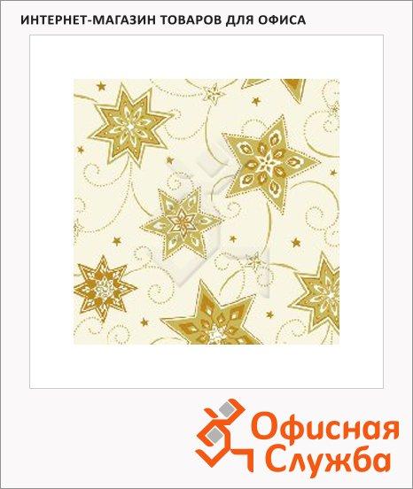 Салфетки Papstar звезды, 33х33см, 3 слоя, 20шт