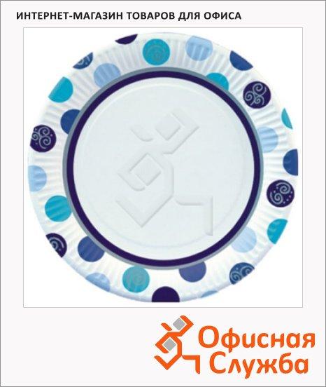 Тарелка одноразовая Papstar Шары, d=23см, 10шт/уп