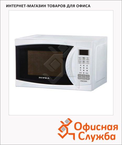 фото: Микроволновая печь Supra MWS-1824SW 18 л 700 Вт, белая
