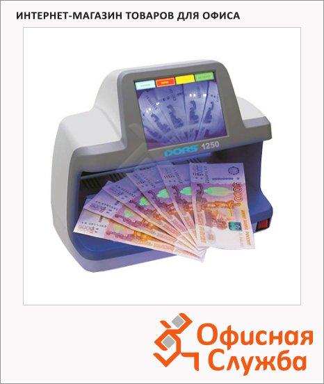 фото: Детектор банкнот Dors 1250 просмотровый, ИК/УФ детекция