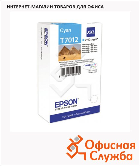 Картридж струйный Epson