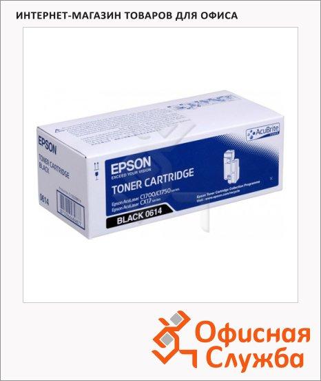 фото: Тонер-картридж Epson C13S050614 черный