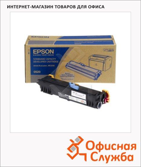 Тонер-картридж Epson C13S050520, черный