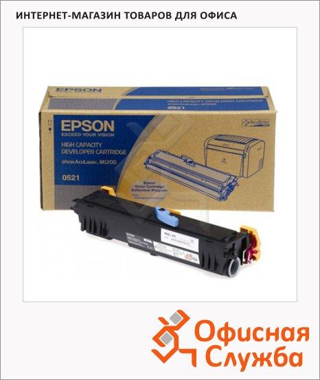 фото: Тонер-картридж Epson C13S050521 черный