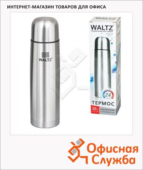Термос с узким горлом Waltz, нержавеющая сталь
