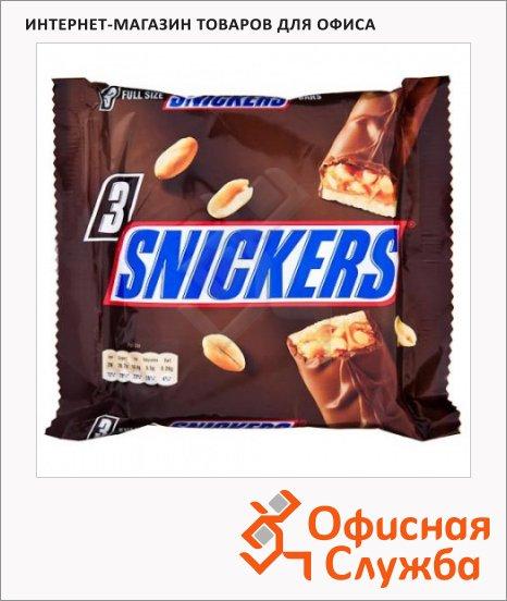 Батончик шоколадный Сникерс