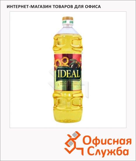 Масло растительное Ideal смесь рафинированного и нерафинированного, 1л