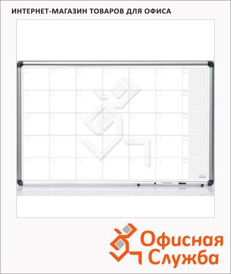 Доска планирования 2x3 TP 001 60х90см, керамическая, на месяц, алюминиевая рама