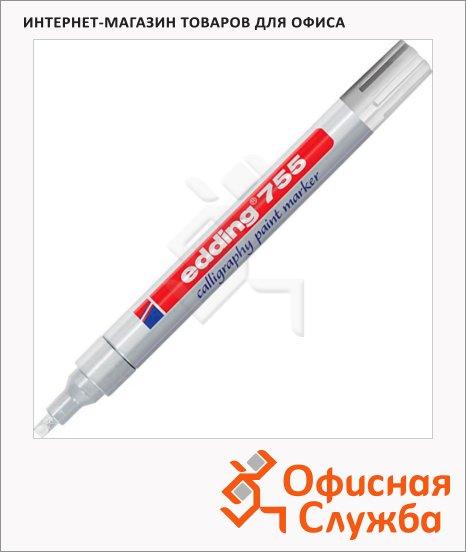 Маркер для каллиграфии Edding 755, 1-4мм, клиновидный наконечник, для металла и гладких поверхностей