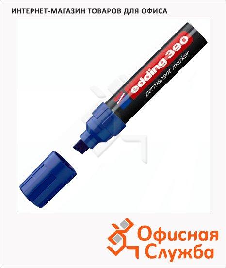 Маркер перманентный Edding 390, 4-12мм, скошенный наконечник, универсальный, заправляемый