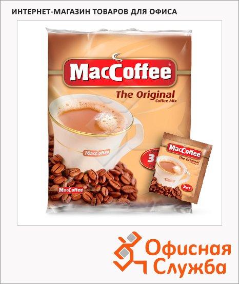 Кофе порционный Maccoffee Original 3в1, растворимый, пакет