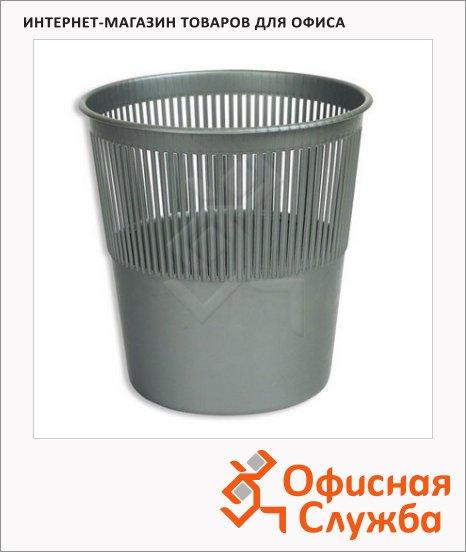 Корзина для бумаг Оскол-Пласт 10л, сетчатая