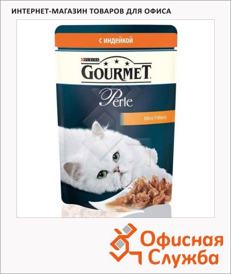 Влажный корм для кошек Gourmet Perle, 85г