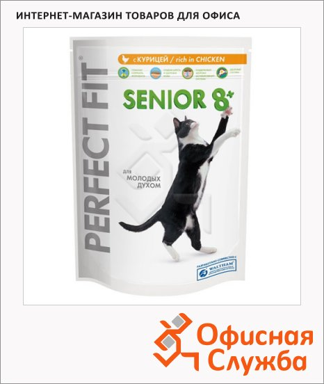Сухой корм для кошек старше 8 лет Perfect Fit Senior