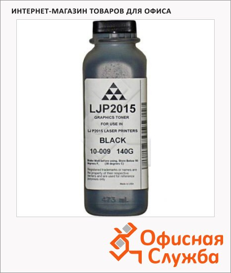 Тонер Aqc AQC 10-009, черный, 140г