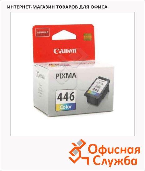 Картридж струйный Canon CL-446, цветной, (8285B001)