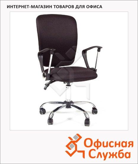 Кресло офисное Chairman 9801 ткань, крестовина хром, NEW