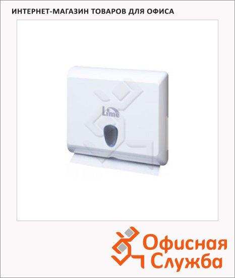 Диспенсер для полотенец Lime белый, mini, Z  укладка, A83801S