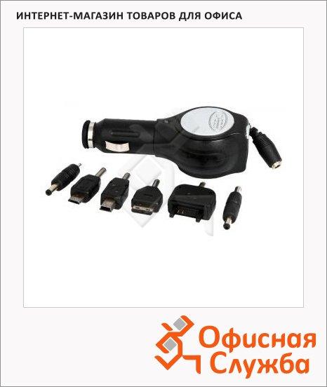 фото: Зарядное устройство автомобильное CH-U6-1 универсальное черное
