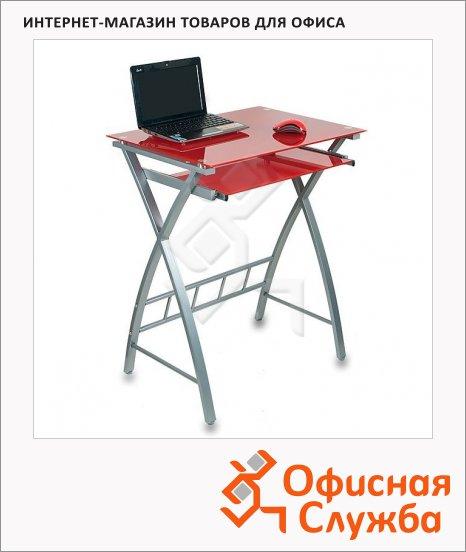 Стол компьютерный Бюрократ GD-003, каркас серебристый, 600х450х750мм