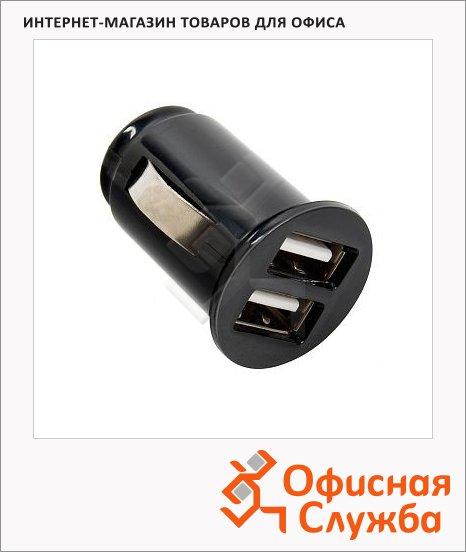 фото: Зарядное устройство автомобильное Rolsen RPA-12U2 2 USB-порта черное