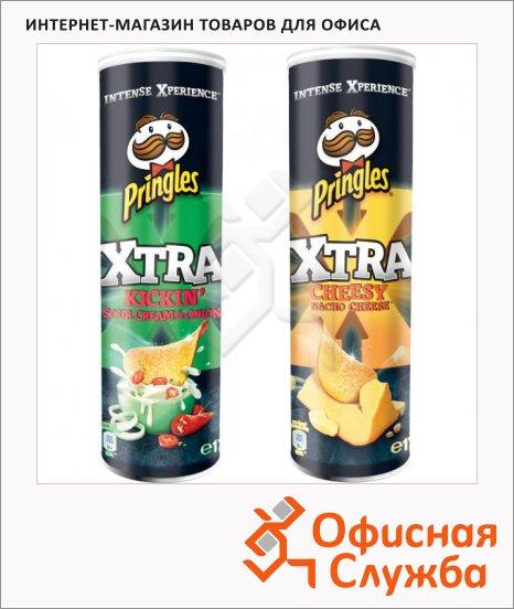 Чипсы Pringles Xtra
