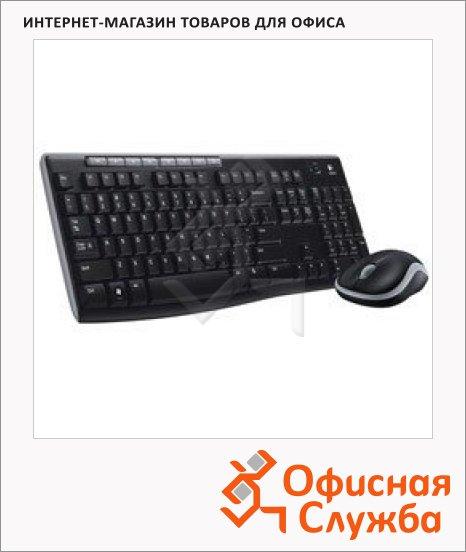 Набор клавиатура и мышь беспроводной Logitech