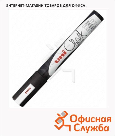 Маркер меловой Uni Chalk PWE-17K, 15мм, круглый наконечник, для окон и стекла