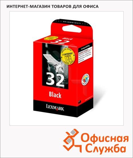 фото: Картридж струйный Lexmark 32 18C0032E черный