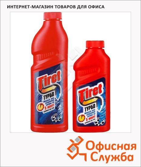 Средство для прочистки труб Tiret Турбо, гель