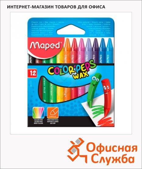 Набор восковых карандашей Maped Color'peps Wax, трехгранные