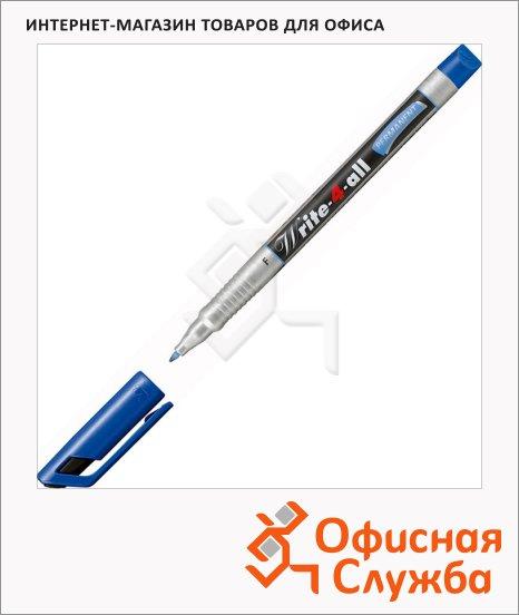 Маркер перманентный Stabilo Write-4-All, 0.7мм, круглый наконечник