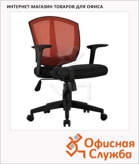 Кресло офисное Brabix Diamond MG-301 ткань, черная, крестовина пластик