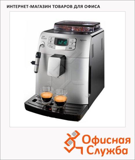 Кофемашина автоматическая Saeco Intelia Class metal HD8752/89, 1900 Вт, стальная