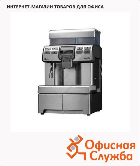 Кофемашина автоматическая Saeco Aulika Top Silver, 1400 Вт, серебристая