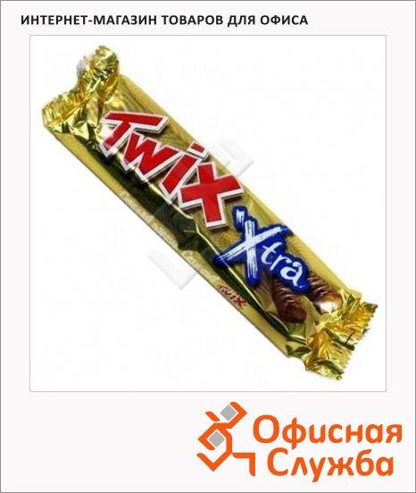 Батончик шоколадный Twix Xtra