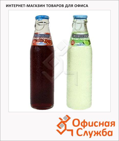 Вода питьевая Сенежская С кислородом без газа, 0.18л х 4шт, стекло
