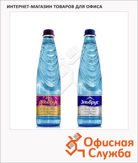 Вода питьевая Эльбрус, 0.4л х 12шт, стекло