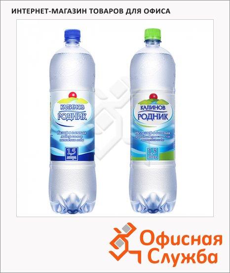 Вода питьевая Калинов Родник, 1.5л х 6шт, ПЭТ