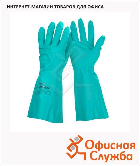 Перчатки защитные Kimberly-Clark Jackson Safety G80, защита от химкатов, зеленые